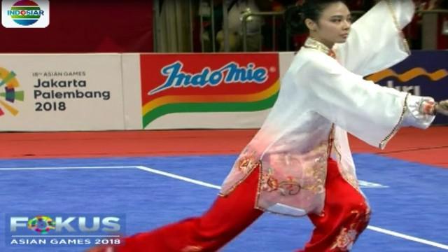 Saat itu Lindswell berlaga dalam nomor taijiguan dan taijijian. Lindswel juga menjadi juara dunia wushu di Malaysia tahun 2013.