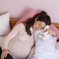 Mengatasi insomnia saat kehamilan./Copyright shutterstock.com