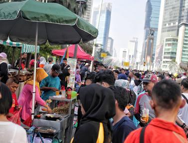 PKL Padati Kawasan CFD Jakarta
