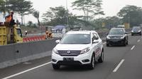Test Drive DFSK Glory 580 di Bandung
