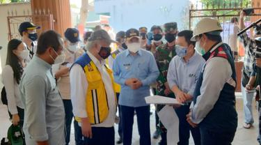 Kunjungan Menteri PUPR Basuki Hadimuljono ke RSLKC Bambanglipuro Bantul