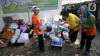 FOTO: Bank Sampah Perumahan Elite di Jakarta