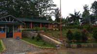 Saung Berkarya di Hambalang Kabupaten Bogor.