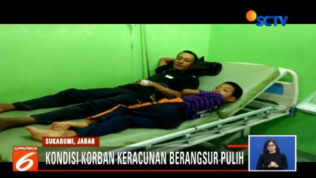 Hanya ada empat warga yang kondisinya masih terus dipantau. Penyebab keracunan juga masih terus diselidiki.