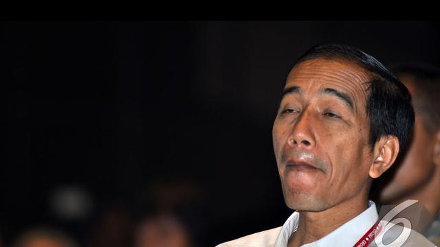 Ekspresi Gokil Jokowi Saat Hadiri Rakornas Ii Projo