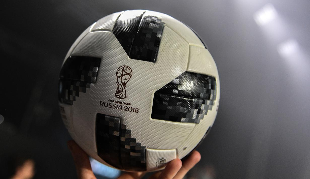 PHOTO Penampakan Telstar 18 Bola Resmi Piala Dunia 2018