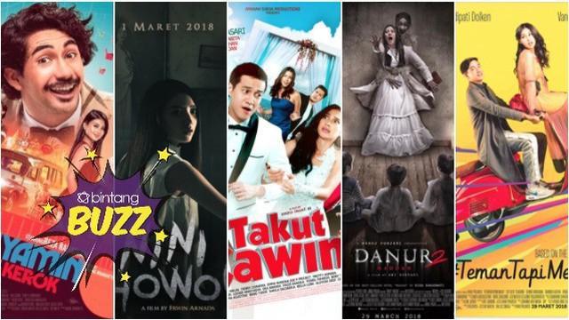 Setiap bulannya film Indonesia selalu menyuguhkan sajian cerita yang beragam dan menarik untuk kamu tonton.