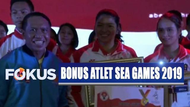Bagi peraih medali emas, menerima bonus Rp 500 juta rupiah, sementara medali perak Rp 300 juta dan medali perunggu Rp 200 juta.