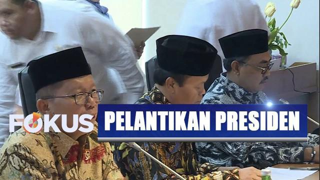 Ketua MPR Bambang Soesatyo sampaikan usulan pelantikan Jokowi-Ma'ruf dilaksanakan pukul 14.00 WIB.