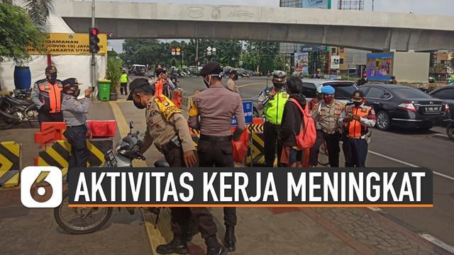 Polda Metro Jaya mengakui mulai adanya peningkatan aktivitas masyarakat ataupun kendaraan di ibu kota beberapa hari terakhir.