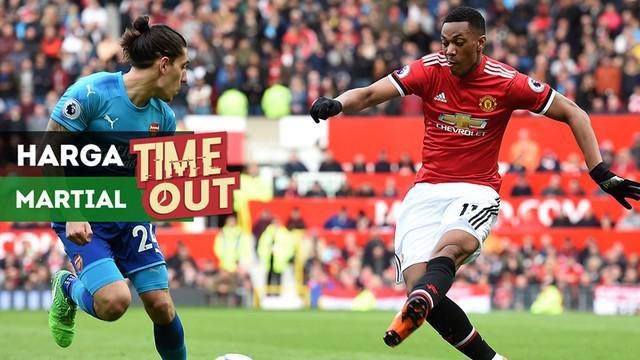 Berita video Time Out kali ini tentang Manchester United yang sudah pasang harga untuk klub yang berminat dengan Anthony Martial.