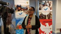 Menteri Pemberdayaan Perempuan dan Perlindungan Anak, Yohana Yembise  mengungkap peranan perempuan untuk pembangunan Indonesia.