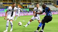 Striker Inter Milan, Romelu Lukaku (MIGUEL MEDINA / AFP)