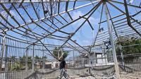 Kebun Binantang di Gaza. (Daily Mail)