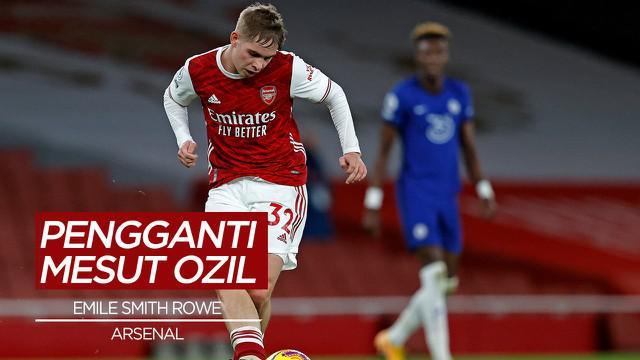 Berita Video Emile Smith Rowe, Penggati Mesut Ozil di Arsenal
