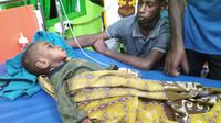Suasana pasien RSUD Agats di Papua (Foto: Hendrik Hada)