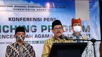 Wamenag Zainut Tauhid Sa'adi, di Jakarta, Jumat (18/9/2020). (foto: dokumentasi Kemenag)