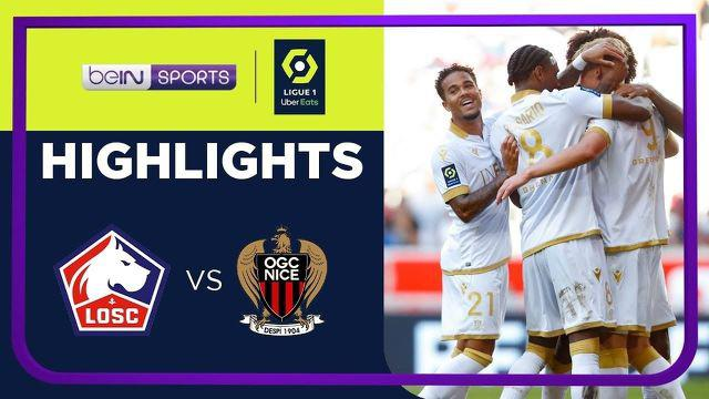 berita video highlights Ligue 1, Lille kalah 0-4 atas OGC Nice, Minggu (15/8/21)