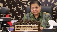 Menteri Koordinator Bidang Perekonomian Airlangga Hartarto yang juga Ketua Komite Penanganan Covid-19 dan Pemulihan Ekonomi Nasional (KPCPEN).