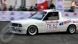 Gymkhana Race War menghadirkan 4 kelas kejuaraan, yang dibagi berdasarkan kapasitas mesin dan sistem gerak-roda (Liputan6.com/ Danu Baharuddin)