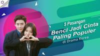 Pasangan Benci Jadi Cinta Paling Populer di Drama Korea
