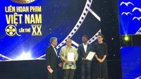 """ASEAN Film Awards dengan tema """"Cinema connects the ASEAN community"""" untuk pertama kalinya diselenggarakan oleh Vietnam dalam rangka memperingati ulang tahun ASEAN ke-50. (KBRI Hanoi)"""