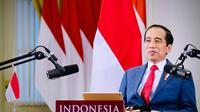 Presiden Jokowi saat menghadiri acara World Economic Forum (WEF) 2020 secara virtual dari Istana Kepresidenan Bogor, Jawa Barat, Rabu, 25 November 2020. (Dok: Muchlis Jr - Biro Pers Sekretariat Presiden)