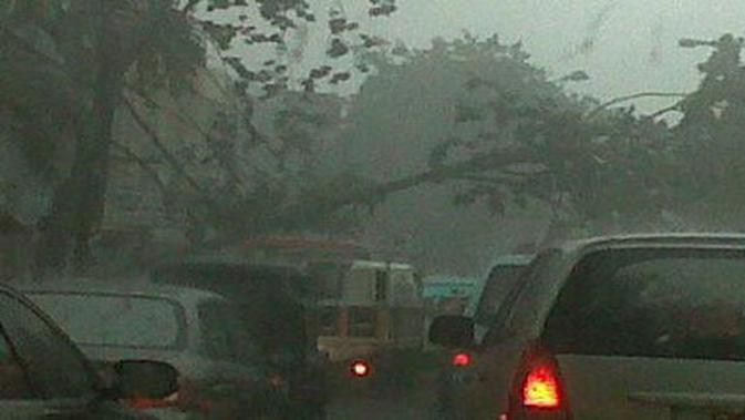 Ilustrasi hujan angin (Istimewa)