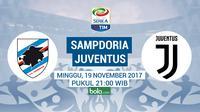 Serie A_Sampdoria vs Juventus (Bola.com/Adreanus Titus)