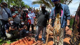 Saat Sandiaga Uno Kunjungi Kampung Yoboi di Papua