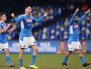 Taklukkan Lazio, Napoli Sukses Amankan Tiket Semifinal Coppa Italia