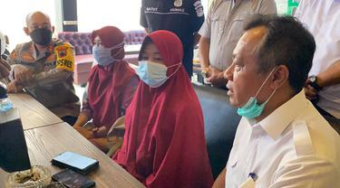 Kapolres Cilacap membantah menangkap orang yang hendak menyampaikan aspirasi dalam kunjungan Presiden Jokowi. (Foto: Liputan6.com/Humas Polres Cilacap)