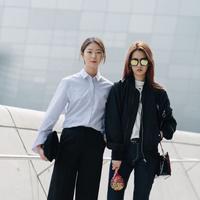 Gaya busana sehari-hari yang casual dan trendi. (sumber foto: koreanmodel.tumblr.com/pinterest)