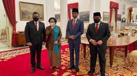 Suasana Pelantikan Megawati Menjadi Ketua Dewan Pengarah Badan Riset dan Inovasi Nasional (BRIN). (Foto: Dokumentasi PDIP).