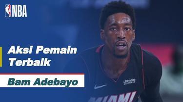 Berita video aksi-aksi terbaik dari bintang Miami Heat, Bam Adebayo, ketika mengalahkan Boston Celtics pada gim keenam final wilayah timur NBA 2019/2020, Senin (28/9/2020) pagi hari WIB.
