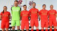 Liverpool resmi meluncurkan jersey kandang untuk musim 2016-2017 (dok.Liverpoolfc)