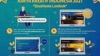 Bank Indonesia (BI) akan menggelar pameran Karya Kreatif Indonesia (KKI) 2021 Seri 1 .