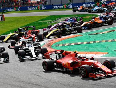 Asapi Hamilton dan Bottas, Charles Leclerc Juarai F1 GP Italia 2019