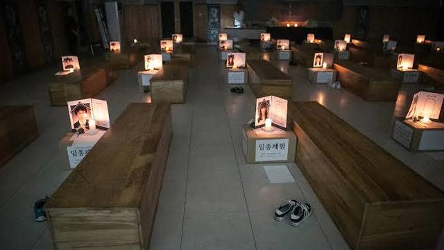Simulasi Kematian di Korea Selatan