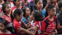 Final Audisi Umum Beasiswa Bulutangkis 2019 diikuti ratusan pebulutangkis muda dan berlangsung di GOR Djarum Jati, Kudus, Jawa Tengah, dari 20 sampai 22 November 2019. (dok. PB Djarum)