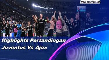 Berita video highlights leg II perempat final Liga Champions 2018-2019 antara Juventus melawan Ajax yang berakhir dengan skor 1-2 di Allianz Stadium, Torino, Selasa (16/4/2019).