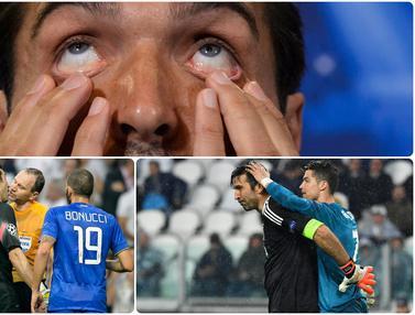 FOTO: Ekpresi Unik Gianluigi Buffon Kiper Juventus yang Siap Pecahkan Rekor di Serie A