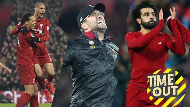 Berita video time out yang membahas tentang tiga alasan Liverpool bisa menjadi juara Premier League musim ini.