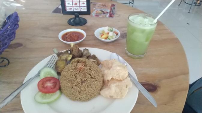 pilihan makan siang di pedagang joe