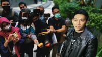 Ifan Seventeen usai penayangan film Kemarin (Liputan6.com/Aditia Saputra)