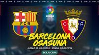 La Liga - Barcelona Vs Osasuna (Bola.com/Adreanus Titus)