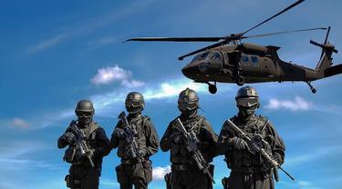 ilustrasi militer.
