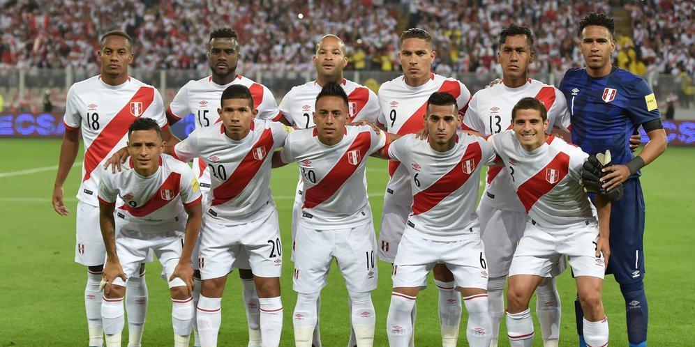 Timnas Peru (AFP)