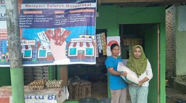 Agen BRILink Yulia Helmi dari Padang, Sumatera Barat. Istimewa