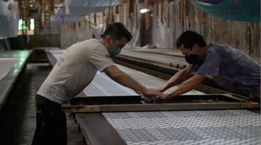 LPEI dukung pembiayaan ekspor UMKM batik di Sukoharjo, Jawa Tengah